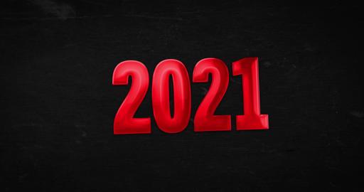 2021. Logotype. 4K animation Animation