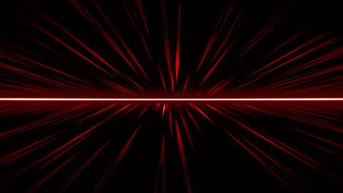Red Geometric Field Animation