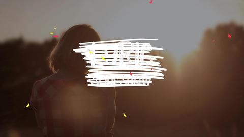 Lyric Slideshow Plantilla de Apple Motion