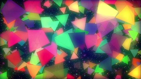 Shiny Pyramids Loop Animation