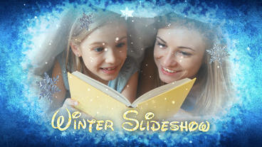 Winter Slideshow - After Efects Template After Effects Template