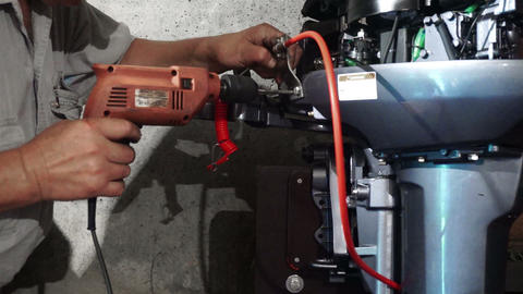 Outboard water-jet motor4 Live Action