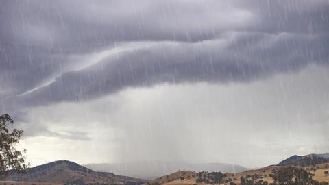 HD Rainy Motion Background Animation Animation