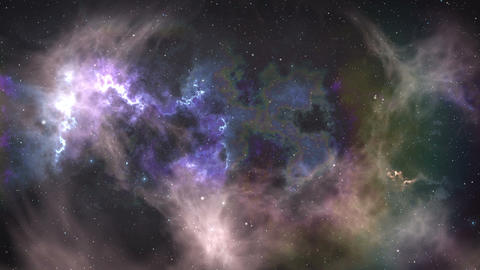 Outer space 애니메이션