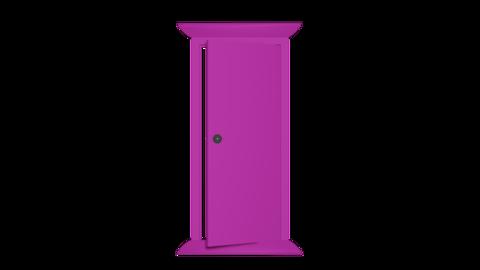 Door front alpha Animation