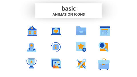 Basic - Animation Icons After Effects Template