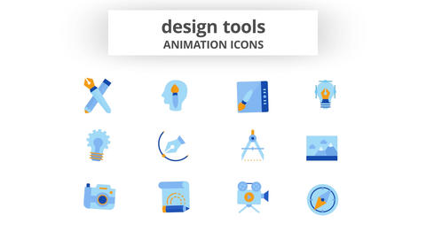 Design Tools - Animation Icons After Effects Template