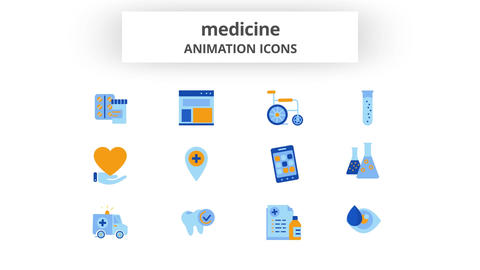 Medicine - Animation Icons After Effects Template