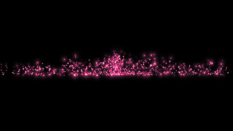 Particle for title synthesis-Magenta Animation