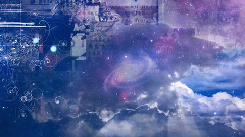 Mystic symbols and stars Live Action