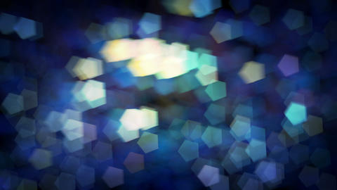 Blurred Light Bokeh Holiday Background Animation