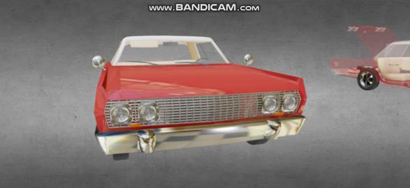 Chevrolet impala 1963 3D Model