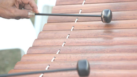 Ranat, Thai xylophone performing Footage