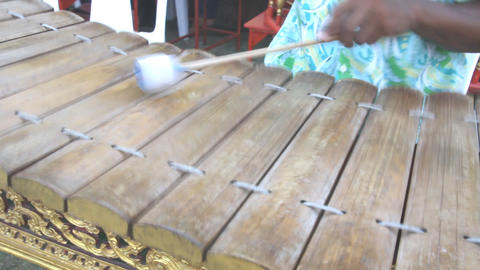Ranat, Thai xylophone performing Live Action