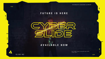 CyberSlide After Effects Template