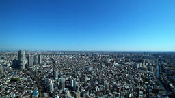 A view of the big city on a sunny day Live Action