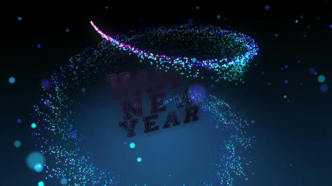 Happy New Year Title Animation