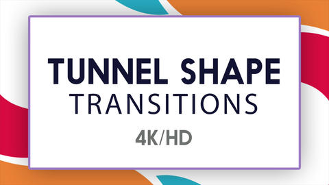 Tunnel Shape Transitions Apple Motion Template