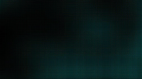 Green Blue Halftone Dots Motion Background Animation