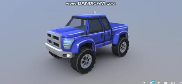 HCR2 Super Diesel 3D Model
