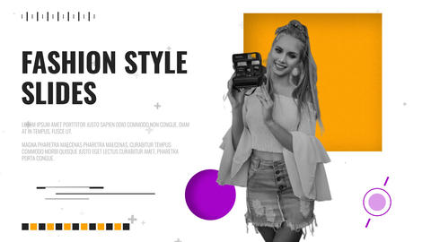 Fashion Style Slides After Effects Template