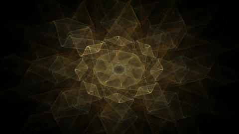 Abstract space of moving sharp triangles. Animation. Dark sharp triangles cutting through space. Animation