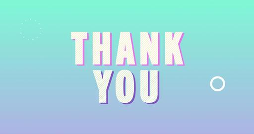 Thank you. Retro Text Animation Animation