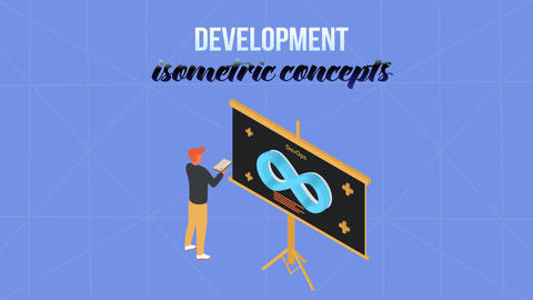 Development - Isometric Concept After Effects Template