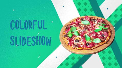 Colorful Cartoon Slideshow Premiere Pro Template