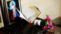 church, Bible on the table Jesus Photos - christmas Footage