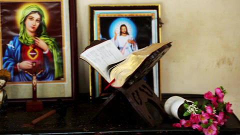 Bible on the table jesus photos Footage