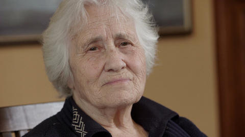 tender look of an old lady Live Action