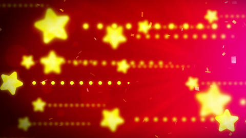 Bright and shining stars,CG Animation,Red,Loop Animation