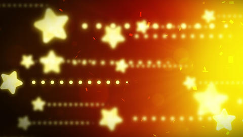 Bright and shining stars,CG Animation,Yellow,Loop Animation