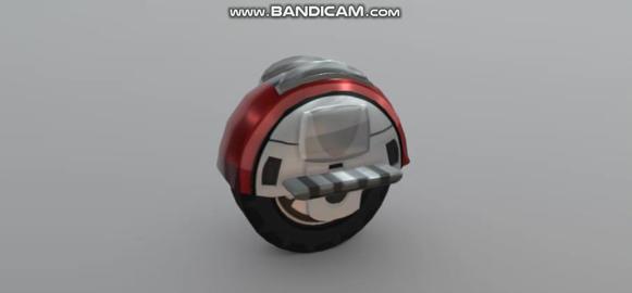 HCR2 Monowheel 3D Model