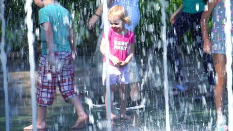 summer fountain GIF
