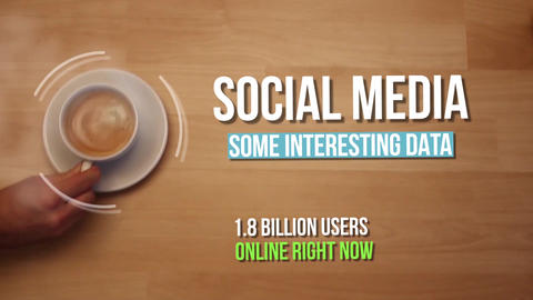 Social Media After Effects Template