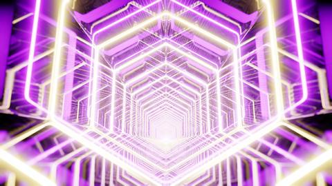 Lighting In Spectrum Honeycomb Animation