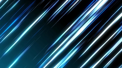 Looping Neon Light streaks - Blue Animation