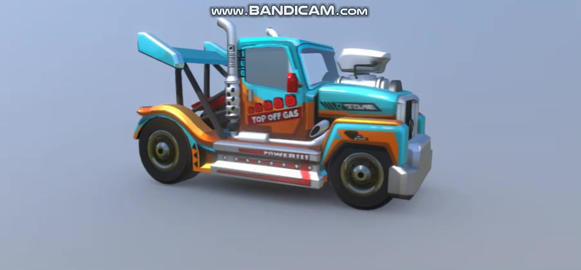 HCR2 Racing Truck 3D Model