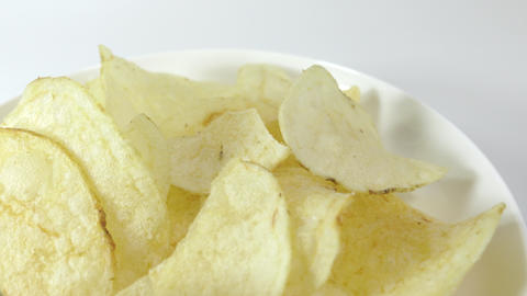 Potato chips salty017 Live Action