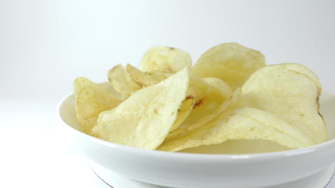 Potato chips salty020 Live Action