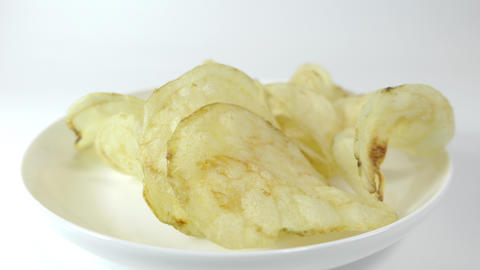 Potato chips salty021 Live Action