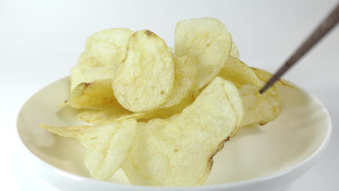 Potato chips salty024 Live Action
