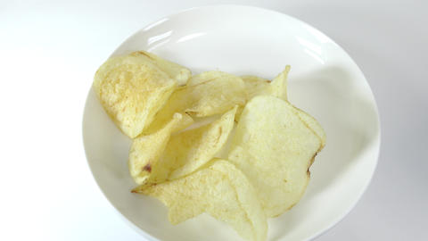 Potato chips salty014 Live Action