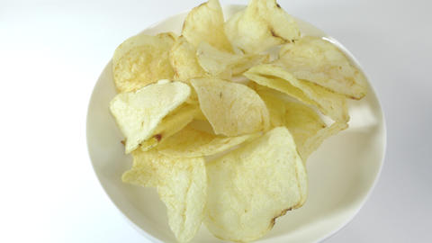Potato chips salty015 Live Action