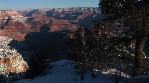 Medium wide shot of Colorado River in Grand Canyon... Stock Video Footage