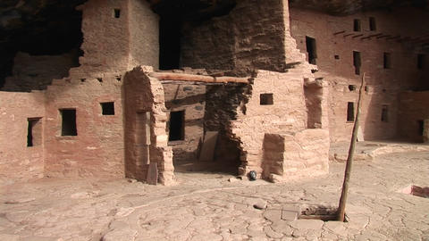 A Native American Indian dwelling Stock Video Footage