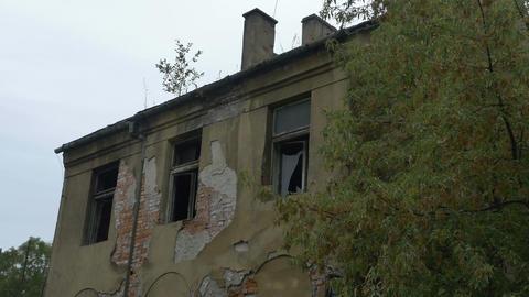 Abandoned Broken House Footage