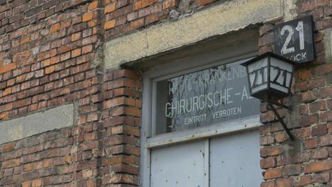 Auschwitz Medical Clinic Footage